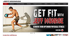 Jeff Monroe website Case Study